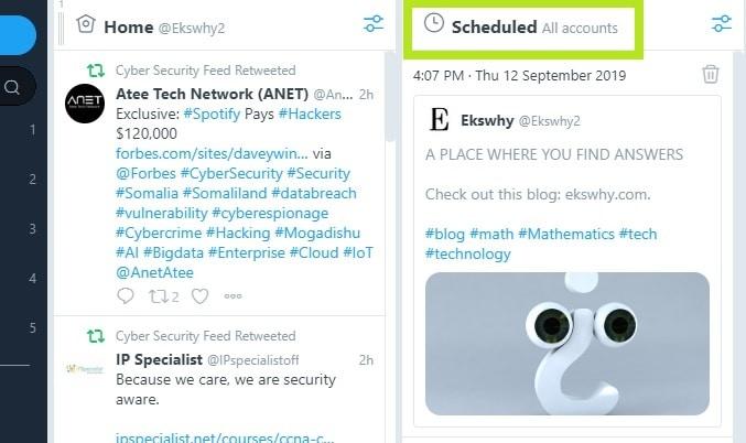 How to Schedule your Tweets with Twitter's TweetDeck